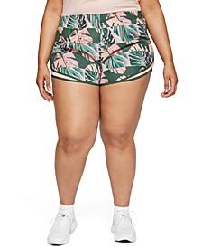 Plus Size Tempo Running Shorts