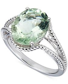 Amethyst Oval Swirl Ring (4 ct. t.w.) in Sterling Silver (Also in Blue Topaz & Green Amethyst)