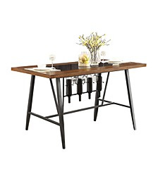 Homelegance Makah Counter Height Dining Room Table