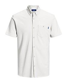 Men's Cotton Blend Short Sleeve Shirt