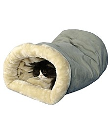 Soft Cave Dog and Cat Bed