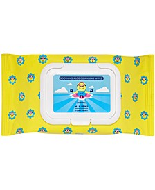 Minions Soothing Aloe Cleansing Wipes, 30 ct.