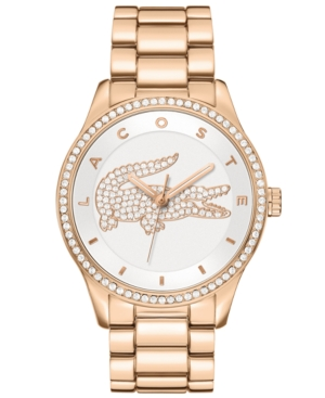 Lacoste Watch, Women's Victoria Rose Gold Ion-Plated Stainless Steel Bracelet 40mm 2000828