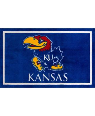 "Kansas Colkn Blue 1'8"" x 2'6"" Area Rug"