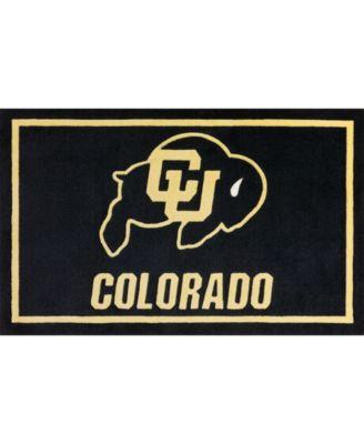 "Colorado Colco Black 1'8"" x 2'6"" Area Rug"