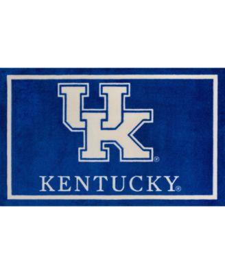 "Kentucky Colky Blue 1'8"" x 2'6"" Area Rug"