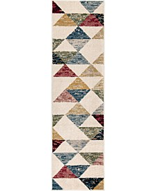 "Monument Lane Bermuda Bone 2'3"" x 8' Runner Rug"
