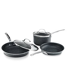 GraniteStone Diamond 5 Piece Non-stick Diamond Infused Coating Cookware Set