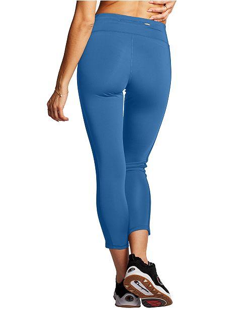 Champion Stripe High Rise Leggings Reviews Pants Leggings Women Macy S