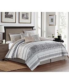 Dolomites 7 Piece Comforter Set, Queen