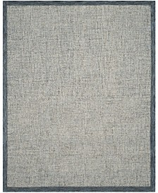 Abstract 220 Navy and Ivory 8' x 10' Area Rug