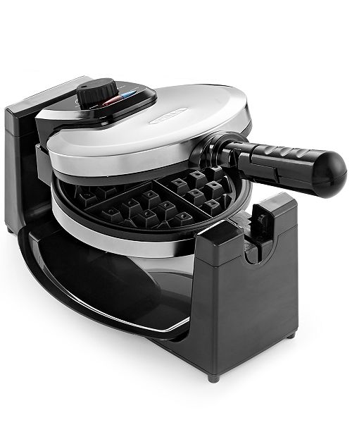 Bella 13991 Polished Stainless Steel Rotary Waffle Maker
