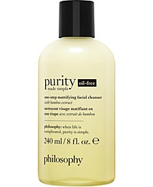 Purity Made Simple Oil-Free One-Step Mattifying Facial Cleanser, 8-oz.