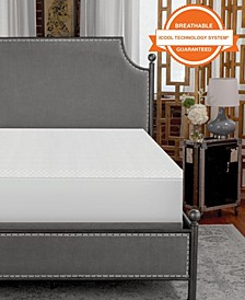 """1.5"""" Coolest Comfort Bed Topper California King"""