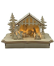 "5.4"" Lighted Nativity"