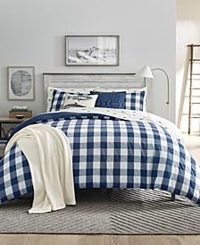 Lakehouse Plaid Twin Comforter Set