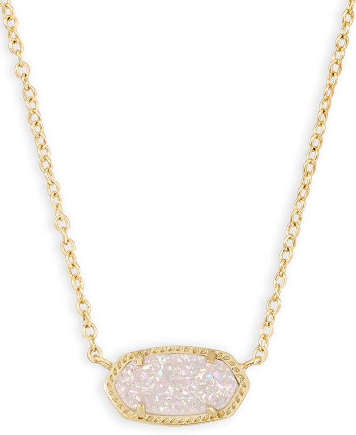 "Kendra Scott - Stone Pendant Necklace, 15"" + 2"" extender"