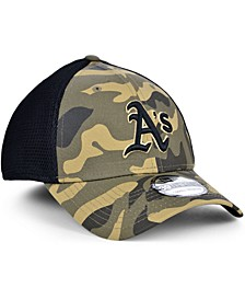 Men's Oakland Athletics Camo Neo 39THIRTY Cap