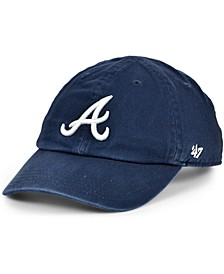Atlanta Braves Kids On-Field Replica Clean Up Cap