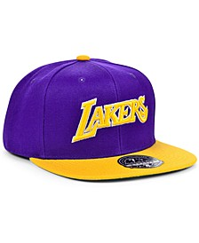 Los Angeles Lakers Wool 2 Tone Fitted Cap