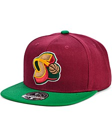 Seattle SuperSonics Wool 2 Tone Fitted Cap