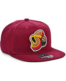 Mitchell & Ness Seattle SuperSonics Team Ground Fitted Cap