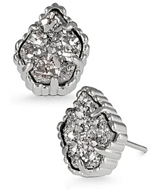 Drusy Stone Stud Earrings