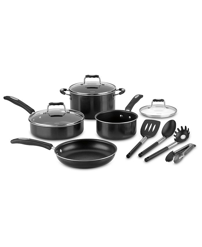 Cuisinart - Aluminum Nonstick 11-Pc. Cookware Set