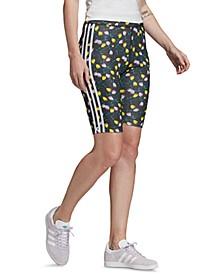 Women's Printed Bike Shorts