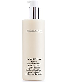Get More! Free Full-Size Visible Difference Special Moisture Formula for Body Care 10-oz. with any $75 Elizabeth Arden Purchase (Total gift up to a $165.50 value!)