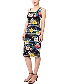 Juniors' Midi Bodycon Dress