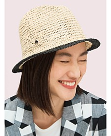 Heritage Stripe Crushable Fedora