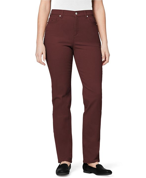 Gloria Vanderbilt Women's Amanda Jean Pant, in Regular & Petite Sizes