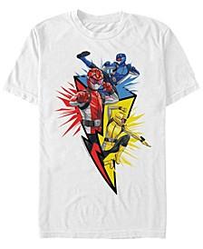 Men's Power Rangers Lightning Short Sleeve T-Shirt