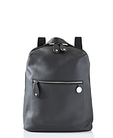 Hartland Leather Convertible Backpack Diaper Bag