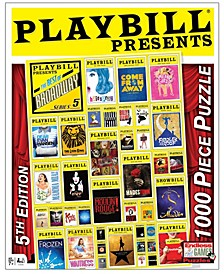 Playbill - Best of Broadway Jigsaw Puzzle - 1000 Piece