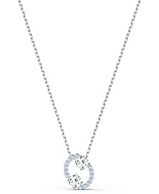 "Two-Tone Crystal Zodiac Pendant Necklace, 16-1/2"" + 2"" extender"