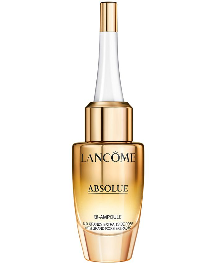 Lancôme - Absolue Overnight Repairing Bi-Ampoule Concentrated Anti-Aging Serum, 0.4-oz.