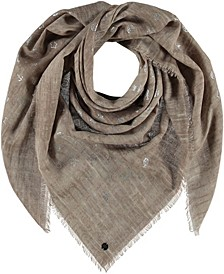 Shimmering Square Scarf