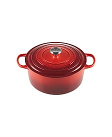 7.25-Qt. Signature Enameled Cast Iron Round Dutch Oven