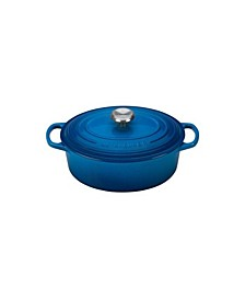 2.75-Qt. Signature Enameled Cast Iron Oval Dutch Oven