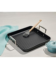 "Toughened Nonstick Pro 11"" Square Grill Pan"