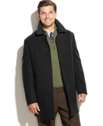 Lauren Ralph Lauren Jake Wool-Blend Overcoat