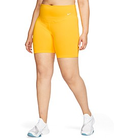 Plus Size Nike One Shorts