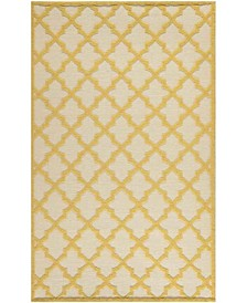 Vermont MSR2552A Ivory and Gold 8' x 10' Area Rug