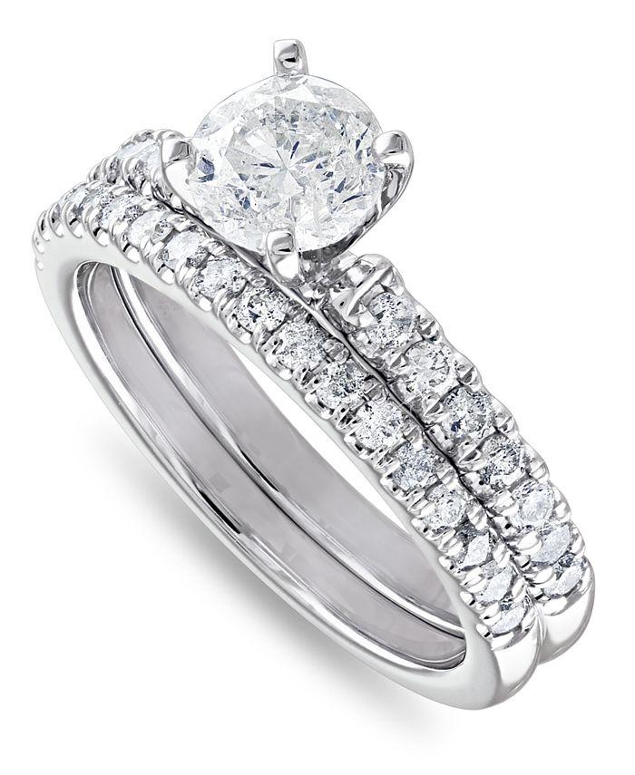 Macy's - IGI Certified Diamond Bridal Set (1-1/2 ct. t.w.)