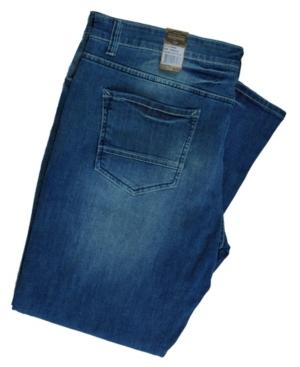 Men's Big Tall Boot Cut Regular Fit Work Pants Jeans