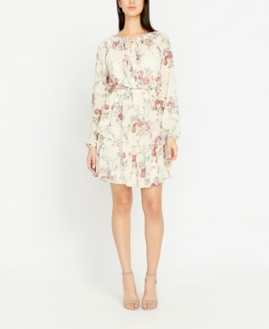 Buffalo David Bitton Gardenia Split Neck Dress