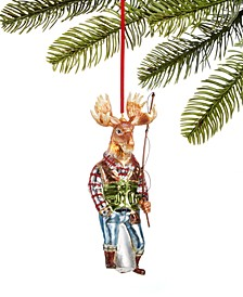 All About You, Glass Moose with Fishing Pole, Created for Macy's