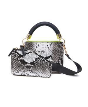 Snakeskin Crossbody Handbag Set